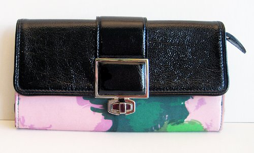 Balenciaga-soft-vintage-leather-silk-wallet
