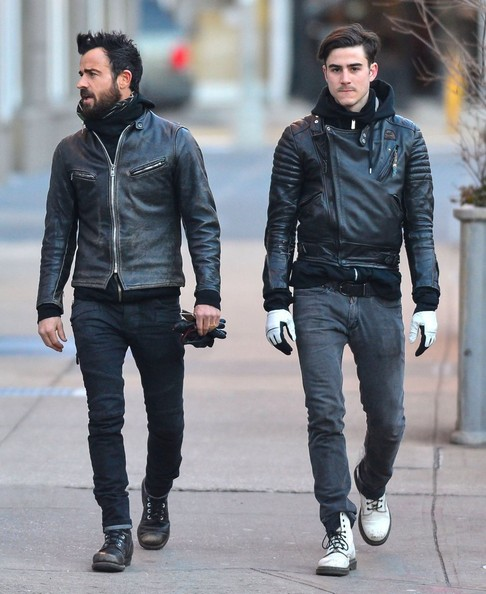 Justin and Sebastian Theroux
