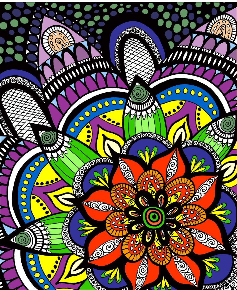 Color It Adult Coloring Book