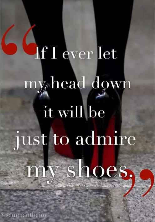 admire shoes