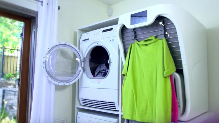 automatic laundry folder