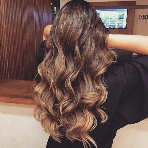 beautiful long thick hair