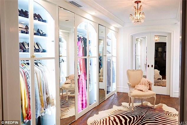 Lauren Conrad closet