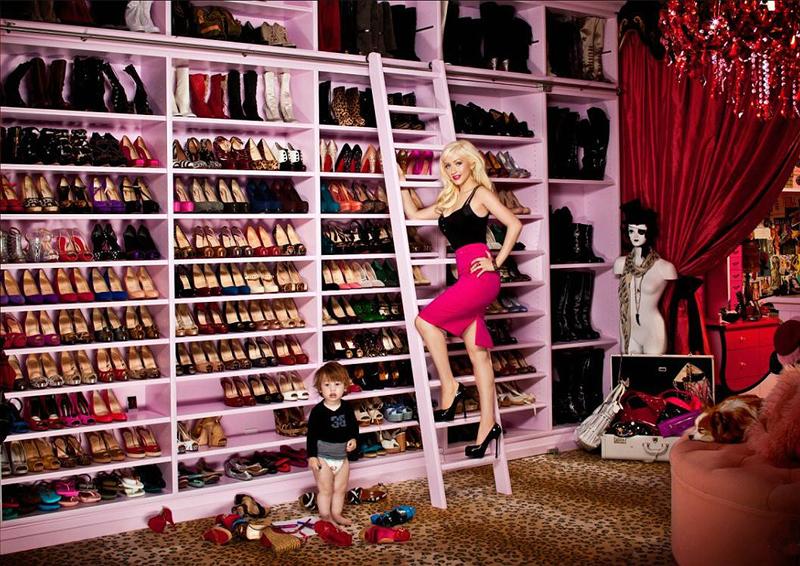 Shoe Closet U2013 Christina Aguilera